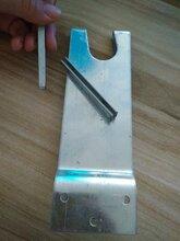 大棚6分卡子高18公分卡子2.0厚橢圓管卡實心插銷高度可以加工