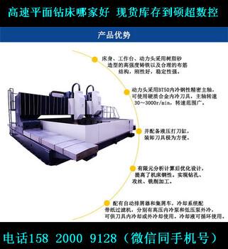 龙门移动式数控钻床,高速平面钻床GZP3535,平面钻厂家硕超数控平面钻现货销售