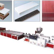 青島合塑PVC窗臺板生產線