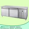 冷柜品牌哪个好GHT15L2两门冷藏厨房工作台冷柜不锈钢冷柜