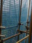 房屋建筑工程爬架施工防護網
