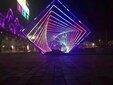 鸡西梦幻灯光节厂家出售LED灯光雕场景的布置、灯光设计图片