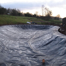 隧道EVA防水板加吊帶式復合防水板廠家直供圖片