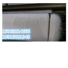 白色土工布防水防渗复合土工膜无纺土工布聚酯长图片