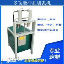 防盗网圆管电动冲孔机生产厂家赫锋机械