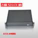 2U机箱工控机箱350长服务器机箱atx主板位2U监控录播机箱新款黑色