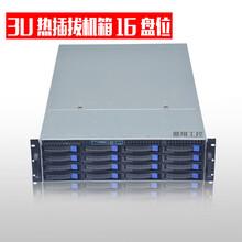 3U機箱服務器機箱16個熱插拔硬盤位2U機箱650長e-atx主板位圖片