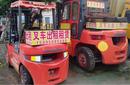 潍城区叉车出租(3、5、7、10吨)租赁、包租转让、吊装平台出租图片