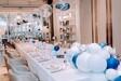 婚慶店慶藝術氣球場地布置氣球與花藝的結合是機緣巧合