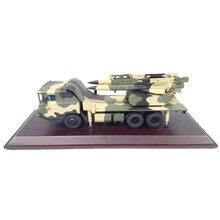 红旗12防空daodan车模型厂家定制军事静态合金仿真战车模型图片