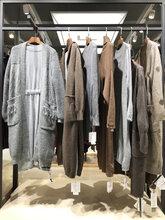 牦牛绒优质毛衣外套广州折扣女装公司秋冬时尚女装尾货批发图片
