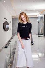 衣之博天丝毛衣针织衫广州品牌女装货源折扣女装批发图片