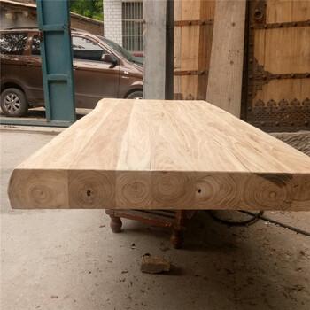 老榆木门板怎么处理哪里有老榆木门板定制茶桌家具