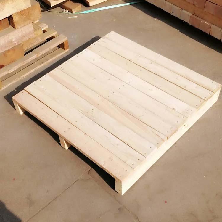 高密厂家直销实木托盘出口热销两面进叉可来图定做