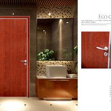 佛山萨洛德门厂定制铝木生态门卧室套装门室内门房间门厂家直销图片