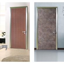 佛山薩洛德門廠廠家直銷鋁木生態門免漆室內門房間門臥室套裝門圖片