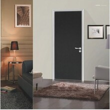 廣東佛山薩洛德門廠定制現代簡約鋁木生態門室內門房間門套裝門圖片