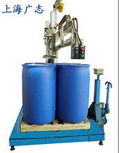 钢桶液体化工立式灌装机图片