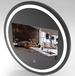 21.5寸智能魔鏡化妝鏡智能衛浴鏡鏡面顯示屏智能家居查詢一體機