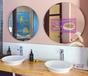 衛生間鏡面廣告機多屏定制智能魔鏡電容觸摸屏鏡子智能廣告機