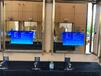 43寸定制化洗手間鏡面廣告機電容觸摸一體機智能魔鏡鏡面一體機