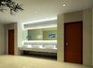 酒店镜面广告机壁挂防水触摸镜面电视led灯智能试衣魔镜显示屏
