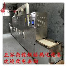 藜麦微波烘焙熟化设备