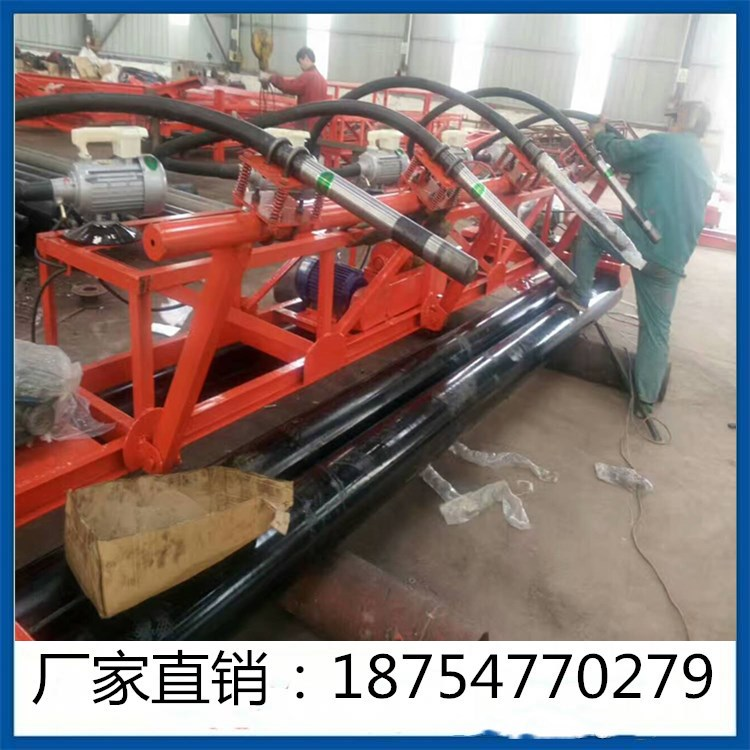 DJZDTP-5型混凝土排式振捣机厂家现货直供混凝土摊铺排阵一体机