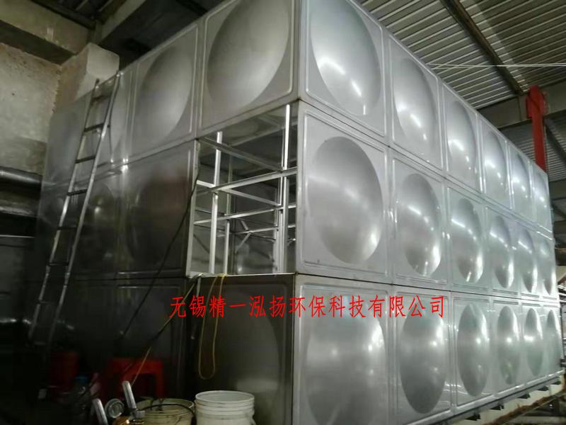 无锡厂家直销污水处理配套不锈钢水箱及热回收保温水箱