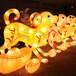 自贡灯会花灯制作狗年造型迎春户外大型装饰灯展定制节日传统花灯