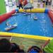 多功能方向盘遥控船儿童游乐园游乐设备水上游乐小船遥控玩具军舰