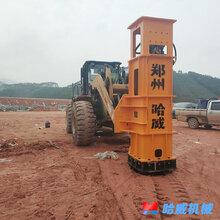 朔城郑州哈威冲击压路机今日价格图片