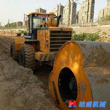 于洪郑州哈威32kj冲击压路机施工单价图片