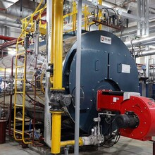 安徽馬鞍山9噸燃氣蒸汽鍋爐制造安裝圖片