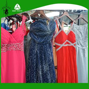 二手禮服批發市場晚禮服工廠A43新娘禮服出口印度泰國