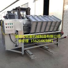 辽宁哪里有羊刮毛机MF-100自动四辊脱羊毛机使用方便去毛率98%图片