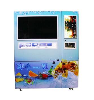 自主研發自動刨冰機