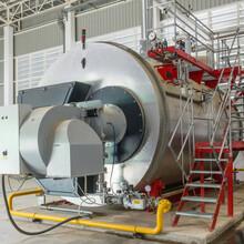 甘肅平涼15噸燃氣蒸汽鍋爐制造廠家圖片
