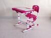 文學士課桌椅兒童課桌椅可升降課桌椅廠家直銷