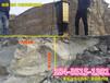 内蒙通辽机载式岩石劈裂机涵洞开挖分裂机船营区