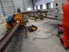 型鋼滾彎機內蒙陜西引水涵洞工字鋼彎形機