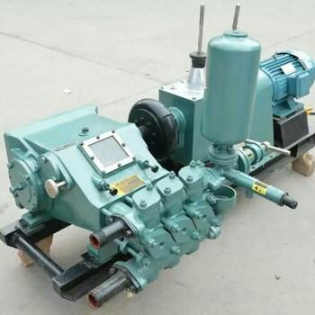 地基双缸大流量注浆机山西阳泉石油钻机配套钻用泥浆泵