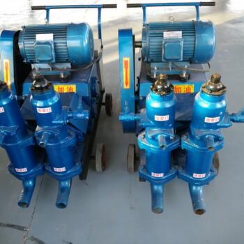 地基浆液循环注浆泵陕西安康多档变速泥浆泵多功能灌浆机