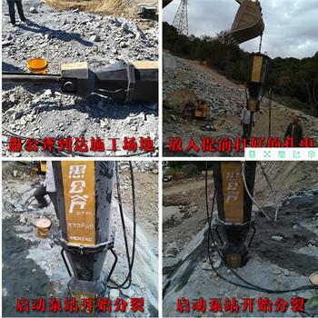 贵州黔南隧道掘进液压劈裂棒