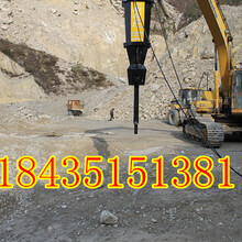 貴州黔南PLB柴油動力巖石分裂器一天多少方圖片