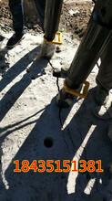 潛江劈裂機大理巖石開采液壓劈裂機圖片