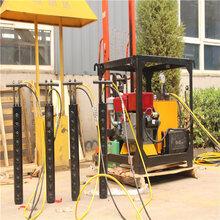 劈裂機采石取代爆破裂石機液壓分石設備湖南衡陽圖片圖片