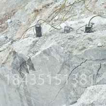 湖南張家界石灰石劈裂機圖片