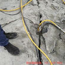 廣東中山礦山巖石開山機性能怎么樣圖片