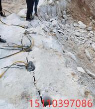 虹口地基開挖硬石頭不能爆用什么機械每日多少產量圖片